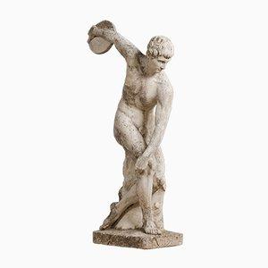 Mid-Century Discobolus Thrower Statue