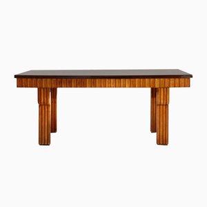 Tavolo da pranzo in legno, anni '60