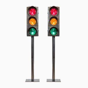 Vintage British Traffic Lights