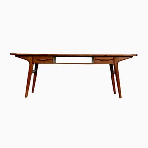 Mid-Century Danish Teak Coffee Table by Johannes Andersen