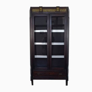 Antique Wooden Showcase Cupboard, 1800s