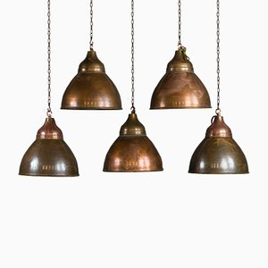 Vintage Copper Ceiling Lamp
