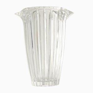 Vase in Transparent Crystal, 1970s