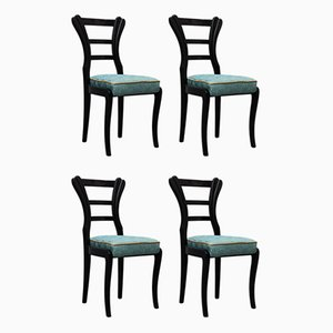 Biedermeier Dining Chairs, 1820s, Set of 4