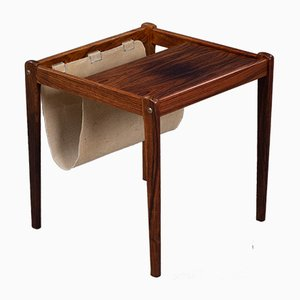 Mid-Century Danish Rosewood Magazine Rack from Furbo