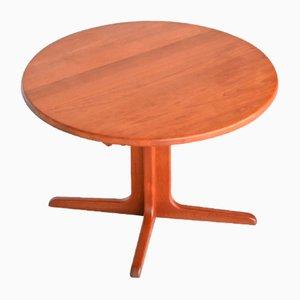 Tavolo da pranzo allungabile in teak di A / S Niels Bach per Randers Møbelfabrik, anni '60