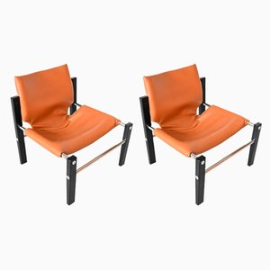 Safari Chelsea Lounge Chairs by Maurice Burke for Arkana, 1970s, Set of 2