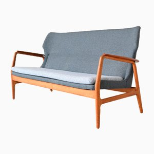 Wingback Lounge Sofa by Aksel Bender Madsen for Bovenkamp, 1960s