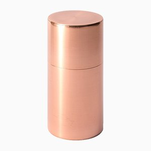 Tea Caddy Copper 400g Long by Kaikado