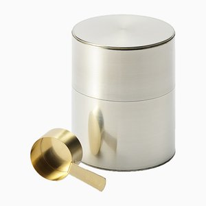 Tin for Coffee 300g Coffee Scoop from Kaikado