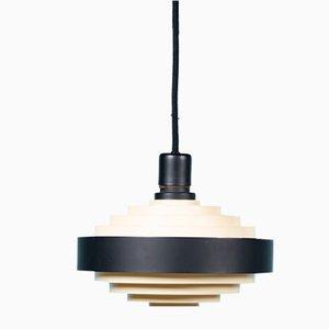Lámpara de techo danesa era espacial de Lyfa, años 60