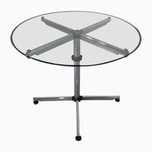 USM Kitos Glass Table for USM Haller, 1990s