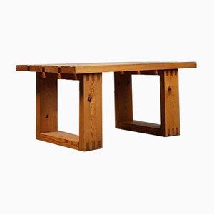 Minimalist Pine Table by Ate van Apeldoorn for Houtwerk Hattem, 1960s