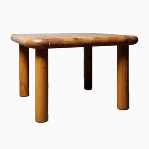 Pine Rounded Table, 1970s