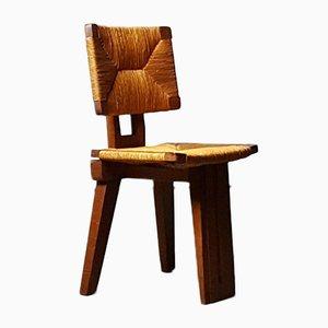 Architectural Tripod Chair, 1950s