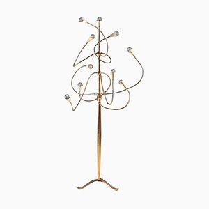 Vintage Floor Lamp Attributed to Gino Sarfatti, 1950s