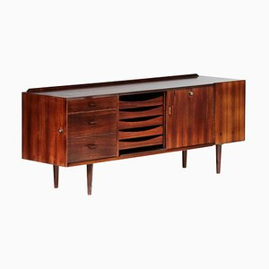 Small Danish Rosewood Sideboard by Arne Vodder for Sibast, 1960s