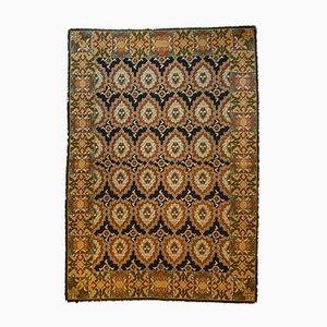 Portuguese Blue Background Arraiolos Carpet, 1970s