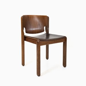 Model 122 Chairs by Vico Magistretti for Cassina, 1967, Set of 8