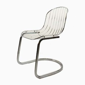 Vintage Chair in Chromed Steel