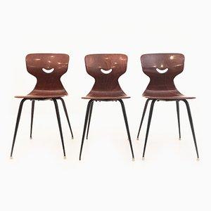 Stühle von Pagholz, 1950er, 3er Set