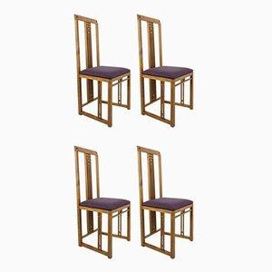 Vintage Stühle von Giorgetti, 4er Set