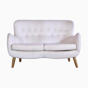 Scandinavian Modern Sofa in Savak Wool and Oak by Frits Schlegel, 1940s