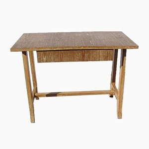 Oak Work Table, 1950s