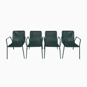 Chaises de Jardin Vintage, Set de 4