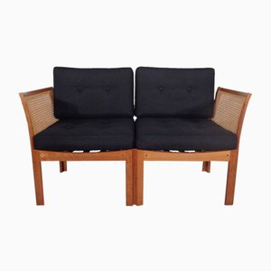 Plexus Sofa von Illum Wikkelsø of Silkeborg Furniture Factory, 1970er