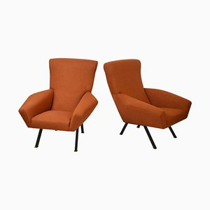 Armchairs by Augusto Magnaghi, Mario Terzaghi for Busnelli, 1960s, Set of 2