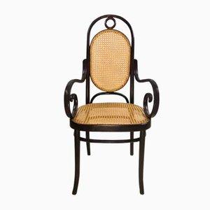 Long John Armlehnstuhl aus Bugholz Nr. 17 von Michael Thonet, 1962