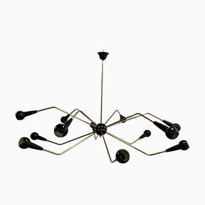 Plafonnier Sputnik Spider de Stilnovo, 1950s