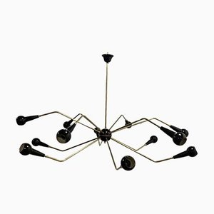 Sputnik Spider Ceiling Lamp from Stilnovo, 1950s