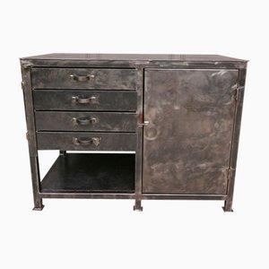 Vintage Metal Tool Cabinet, 1970s
