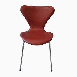 Chaise de Salon Modèle 3107 par Arne Jacobsen pour Fritz Hansen, 1980s