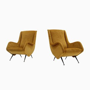 Armchairs by Aldo Morbell for ISA, 1950s, Set of 2
