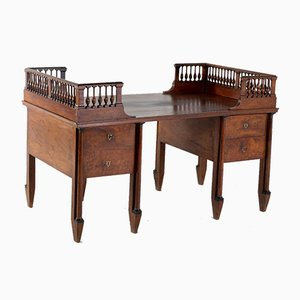 18th-Century Walnut Italian Desk