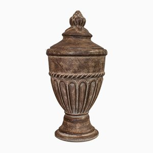 Vintage English Terracotta Urn, 1980s