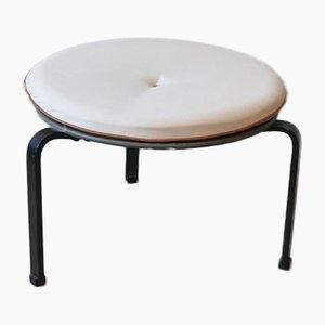 Danish PK33 Stool by Poul Kjærholm for E Kold Christensen, 1950s