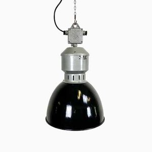 Lampada a sospensione vintage industriale di Elektrosvit, anni '60