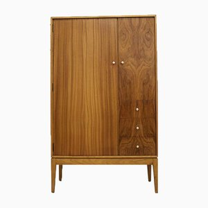 Teak Veneered Compact Wardrobe from Uniflex, 1960s