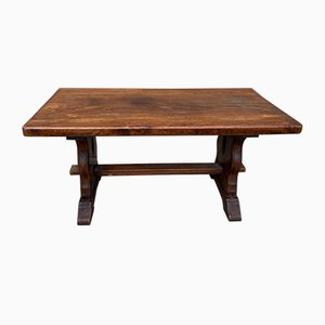 Vintage Oak Monastery Pegged Coffee Table