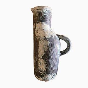 Brocca Mid-Century in ceramica di Jacques Blin, Francia
