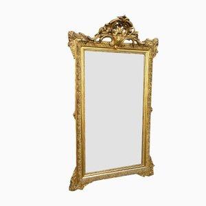 19th-Century Gold Mirror