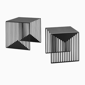 Zick Zack Nesting Tables by Olga Bielawska for Swedish Ninja