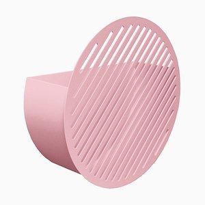 Cesto de pared Diagonal en rosa de Andreason & Leibel para Swedish Ninja