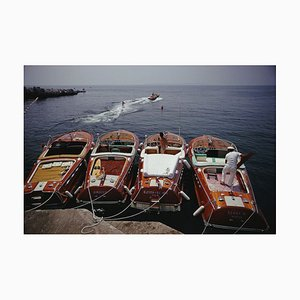 Hotel Du Cap-Eden-Roc Oversize C Print Framed in White by Slim Aarons
