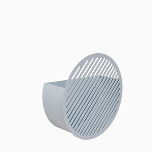 Diagonal Wall Basket Set in Grey by Andreason & Leibel for Swedish Ninja