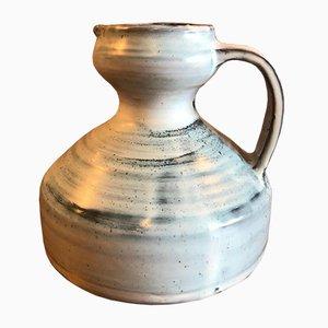 Französischer Mid-Century Keramik Krug von Jacques Pouchain für Atelier Dieulefit